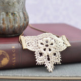 Crocheted Lace Boho Necklace