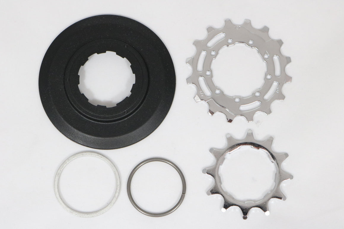 Brompton sprocket / disc set 12/16T for 2 speed rear wheel