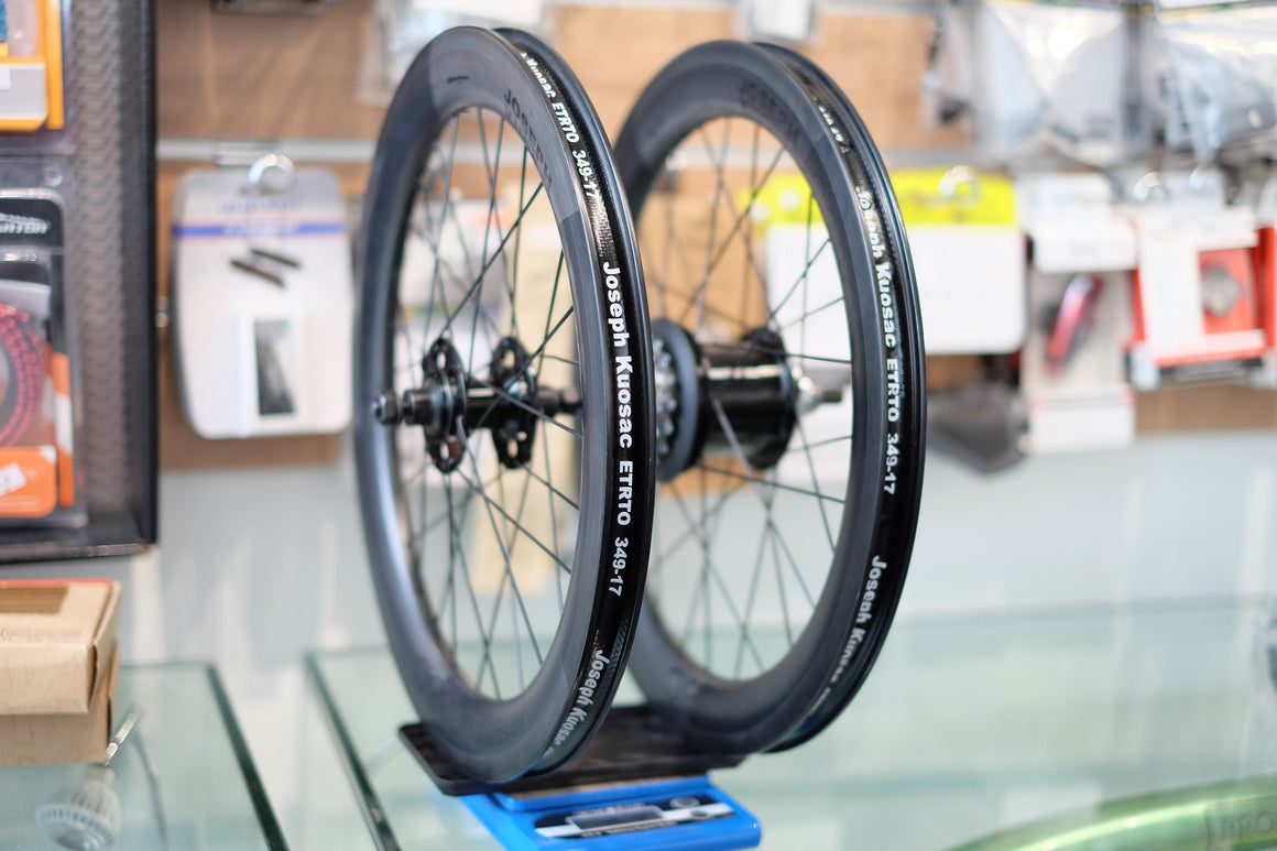 Joseph Kuosac Carbon Wheelset ( 6 speed Brompton)