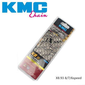 KMC X8 .93 Silver/ Gray 8/7/6 Speed Chain