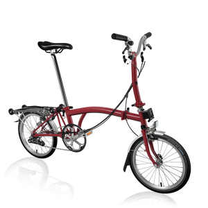 Brompton M6R FCB House Red/ House Red
