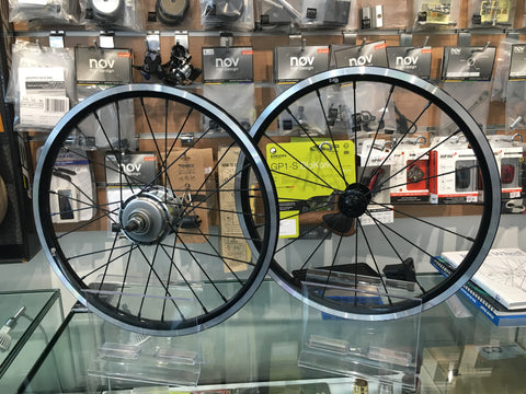 Upgrade your Brompton Rims to ORZ rims ( 6 speed )