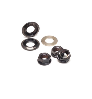 NOV Design Rear Axle Aluminium Nuts & Washer set (M10 and only for 2 speed)
