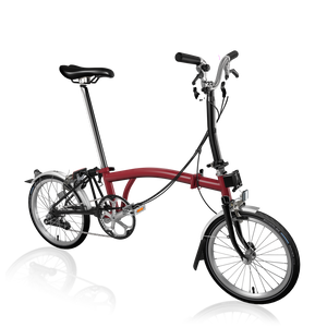 Brompton M6L FCB House Red/ Black