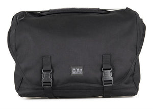 METRO MESSENGER L, BLACK, WITH FRAME