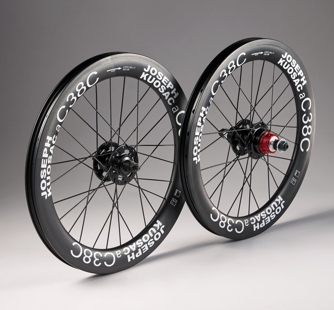 Joseph Kuosac Carbon wheelset for Brompton ( 2 speed only)