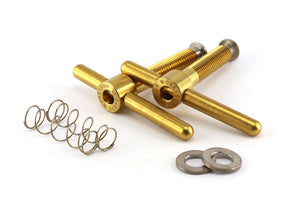 Ti Parts Workshop Titanium Bolts With Washer Hinge Clamp Set