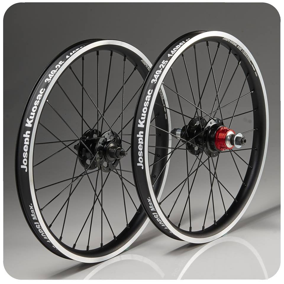 Joseph Kuosac Aluminium Wheelset for Brompton ( 2 Speed)