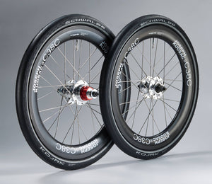 "Joseph Kuosac Carbon wheelset for Tyrell 20"" 406"