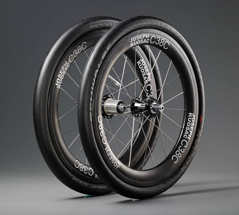 Joseph Kuosac Carbon wheelset for Tern 406