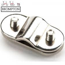 Brompton Mudguard stay anchor plates inner/outer