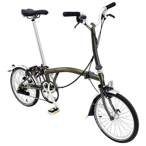 Brompton Bicycle Raw Lacquer FCB