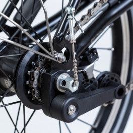 Brompton BLACK 6 speed rear wheel only ( BWR)