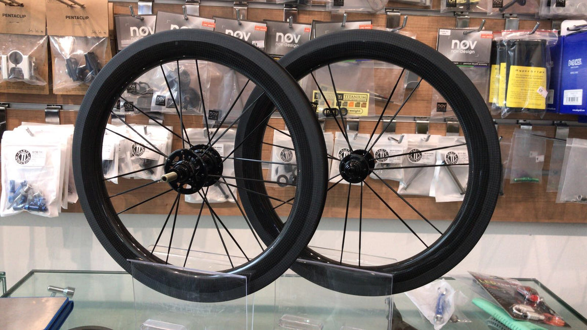 B-spokes Carbon 2 Speed wheelset 14/21