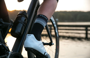 PEdAL ED Reflective Socks - Blue