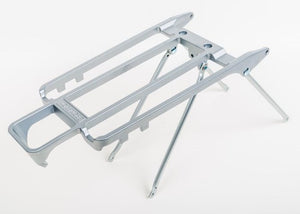 Replacement rack + stays only - 6mm holes (Silver)