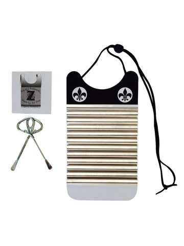 Black & White Mini Washboard