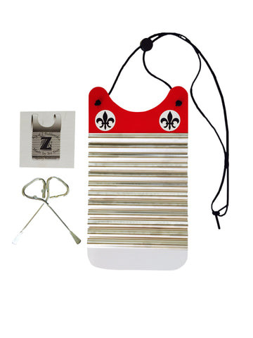 Red & White Mini Washboard