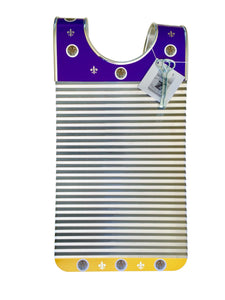 Purple & Yellow Tiger Key of Z Washboard