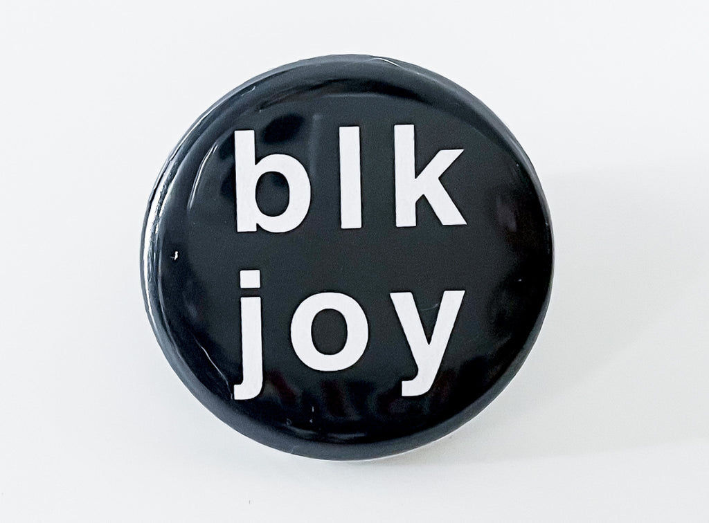 Black Joy Button - InclusiveRandomness