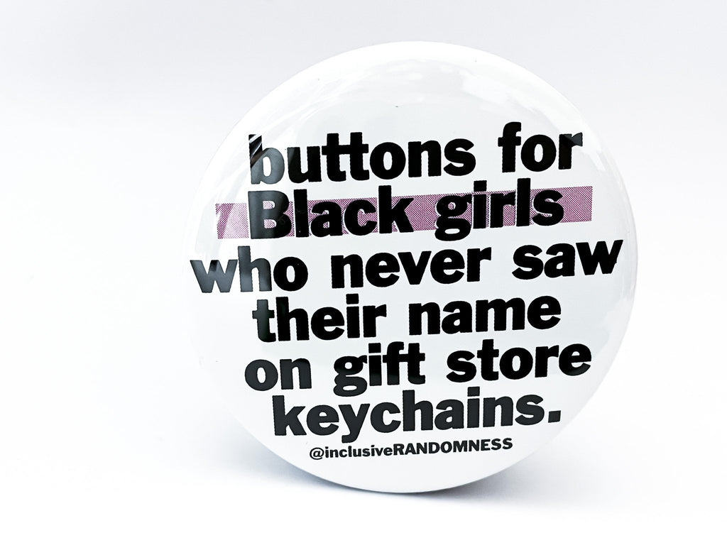 Buttons For Black Girls Large Circle Button - InclusiveRandomness