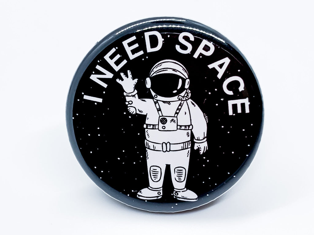 I Need Space Button - InclusiveRandomness