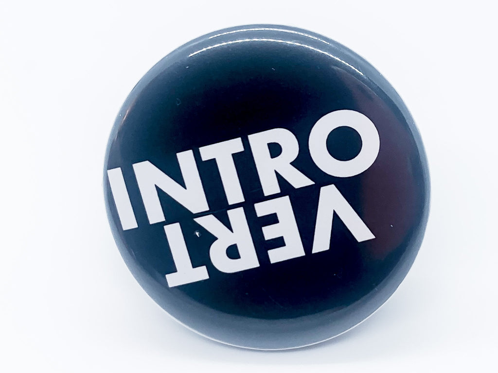 Introvert Button - InclusiveRandomness