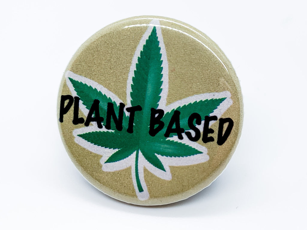 Plant Based Button - InclusiveRandomness