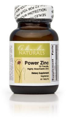 Power Zinc - 60 Tabs (Zinc)