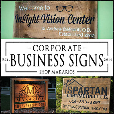 Corporate Business Signs