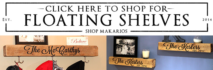 Shop Makarios Floating Shelf