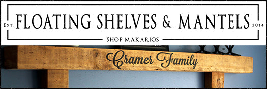 Floating Shelves & Mantels