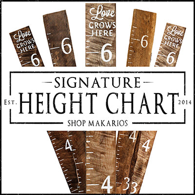 Signature Height Charts