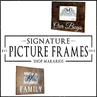 Signature Picture Frames