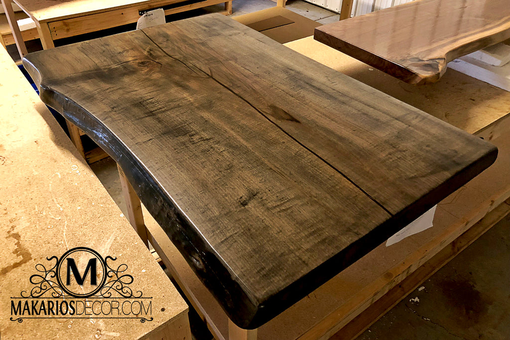 single slab dining table,big wooden table,black walnut live edge dining table,natural edge lumber,natural edge table top,live edge redwood slabs for sale,buy wood slabs near me