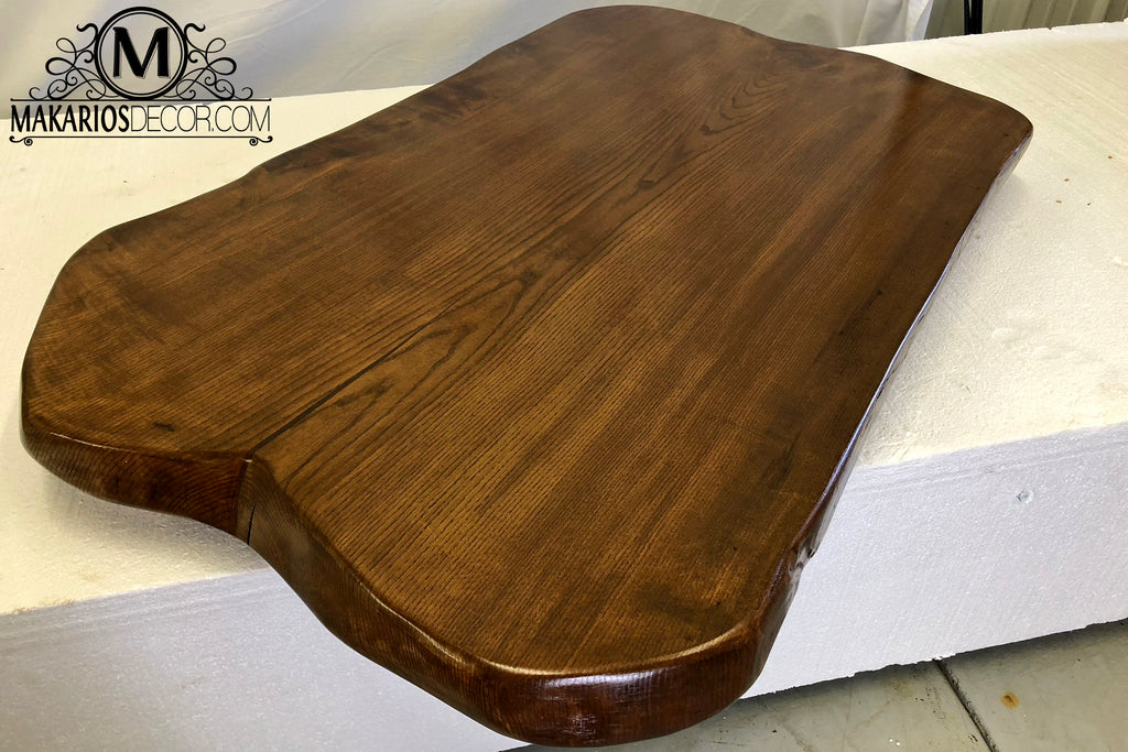 raw edge wood desk,wood slab decor,big wood slabs for sale,live edge mirror,black walnut table slabs,live edge wood side table