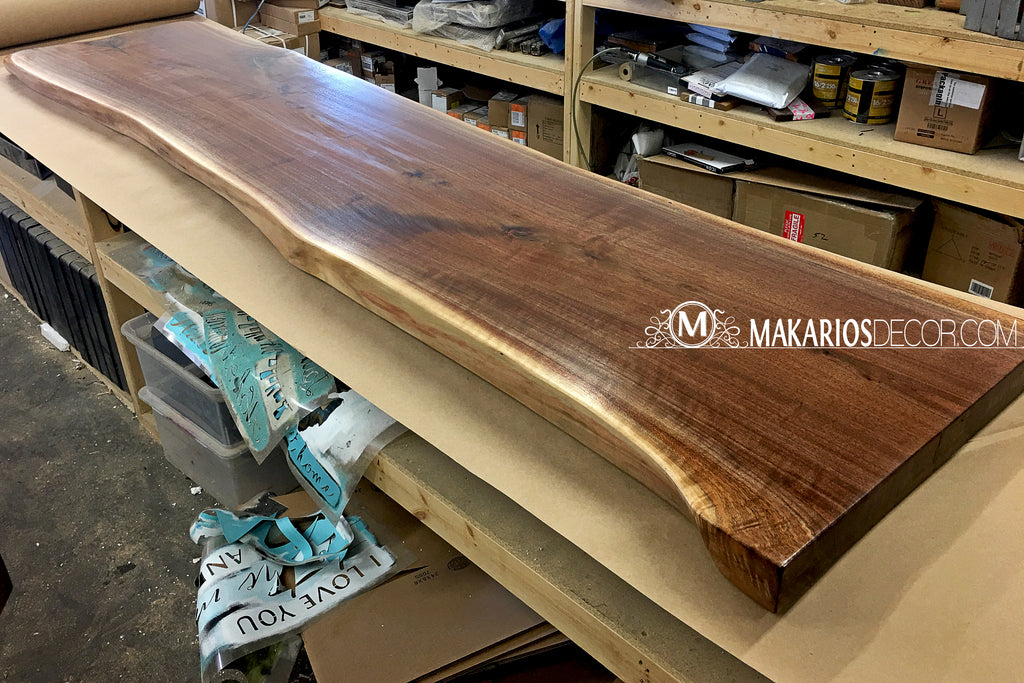 pecan wood slabs for sale,black walnut live edge,mahogany slabs for sale,live edge desk top