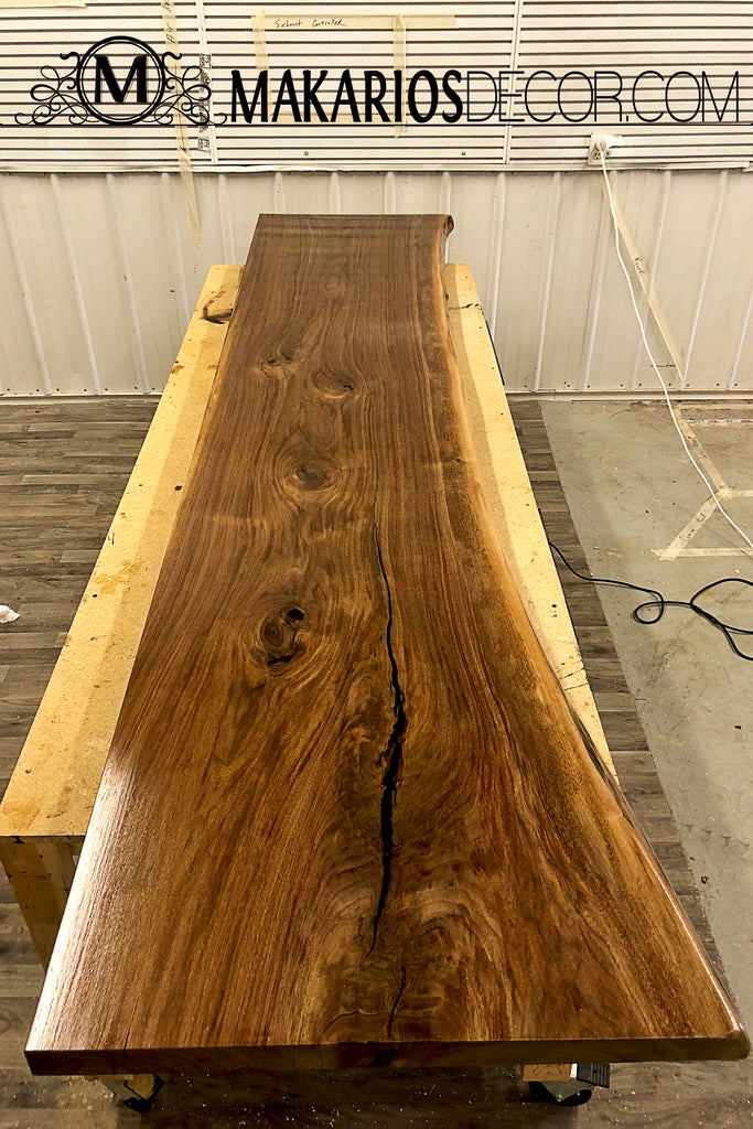 finished wood slabs, rustic wood slices, wood rounds for sale, raw wood planks, live edge walnut dining table, rustic wood slab
