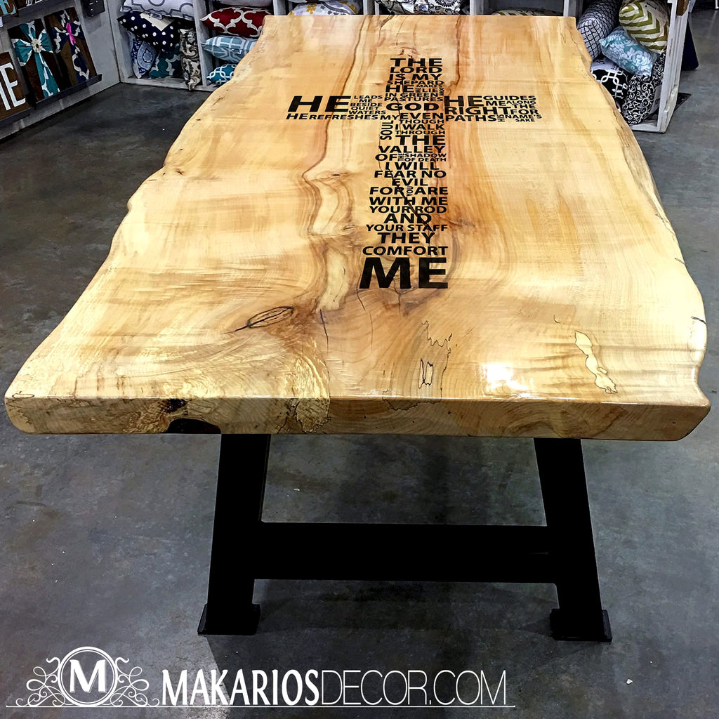 live edge oak table, live edge tables for sale, live edge table legs, wood slab desk, redwood slab, solid wood slab table tops