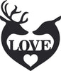 Deer Love Sign