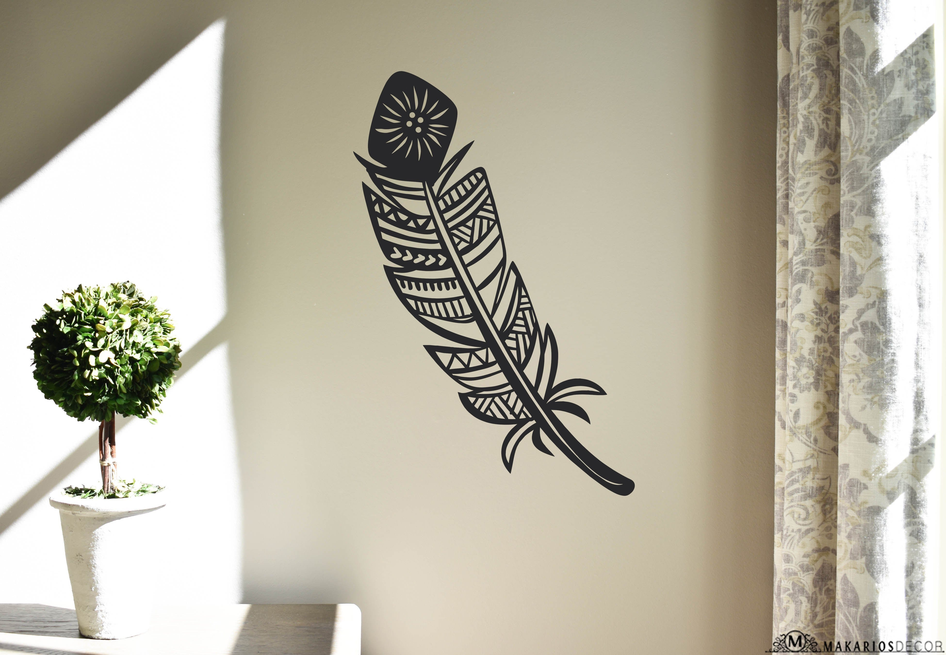 Feather Sign