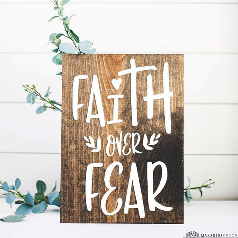 Faith Over Fear