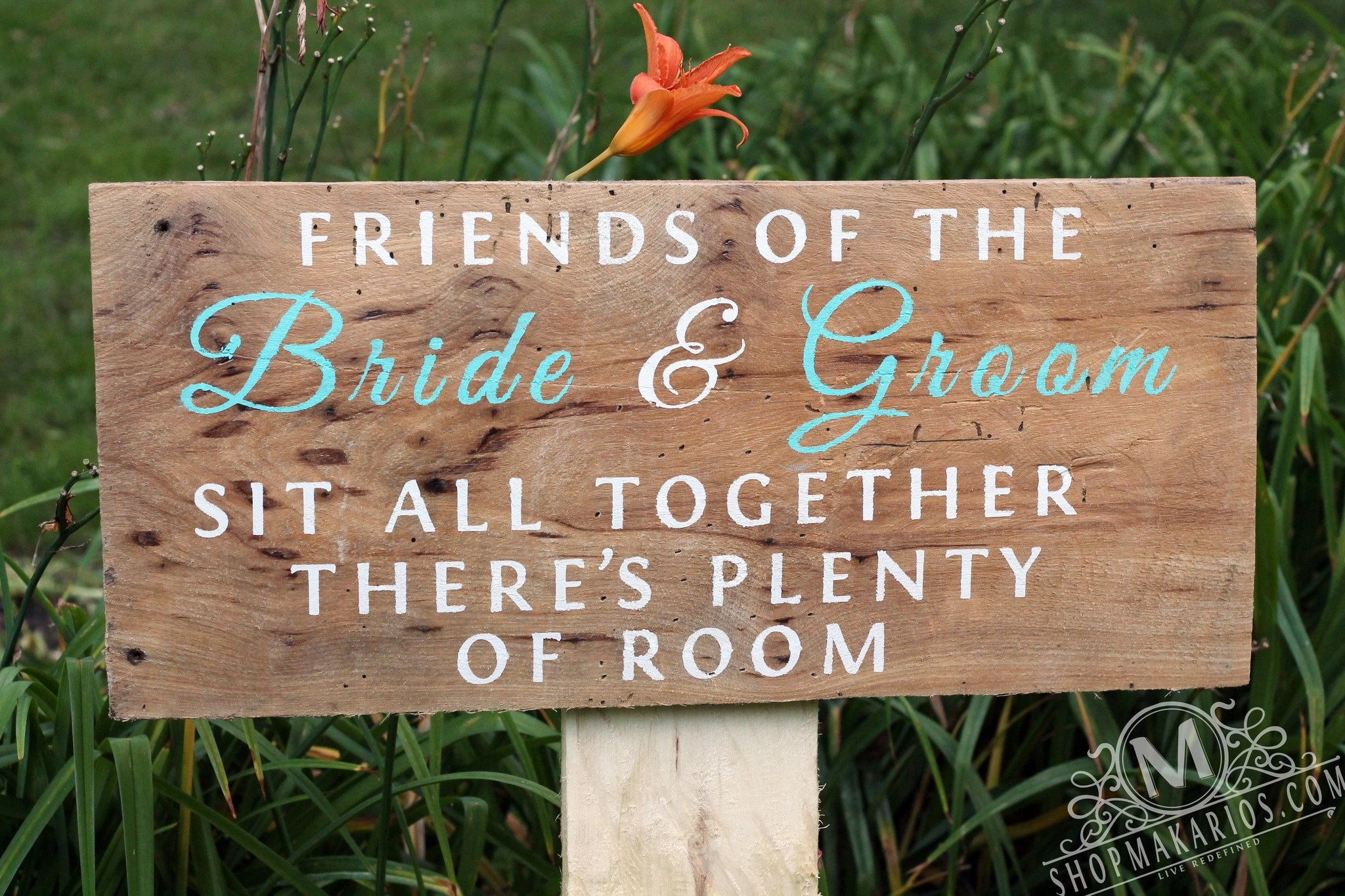 Friends of the Bride & Groom - Wedding Stand