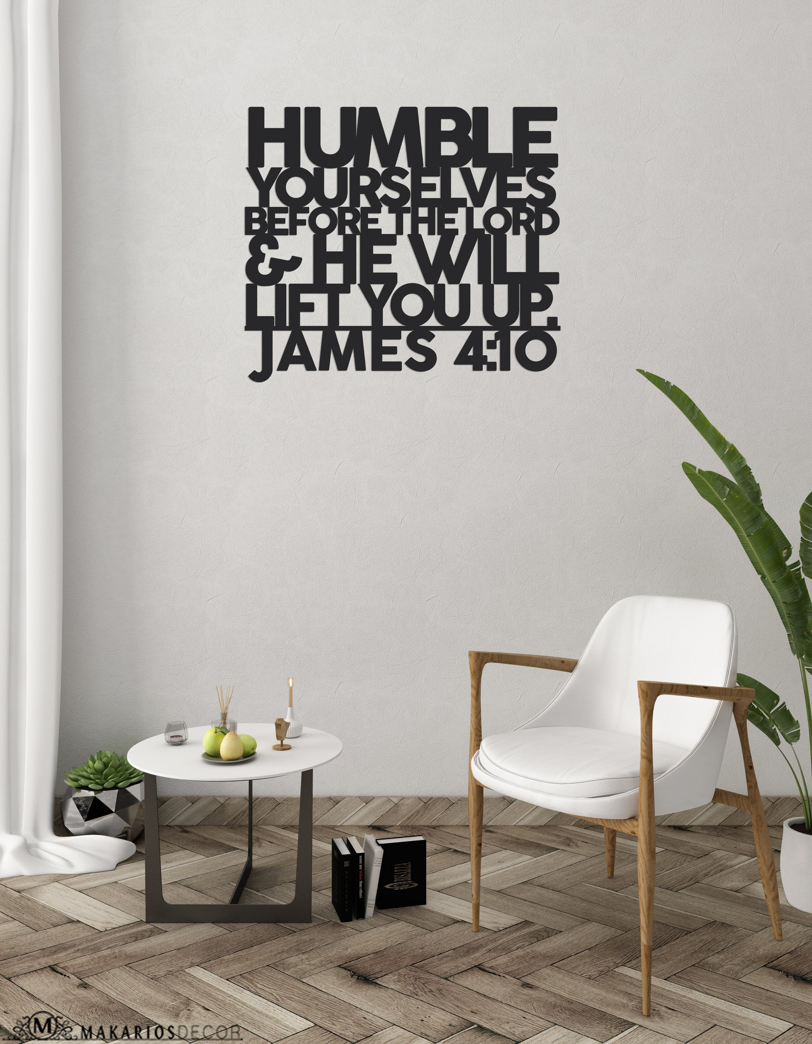 James 4 Scripture Sign