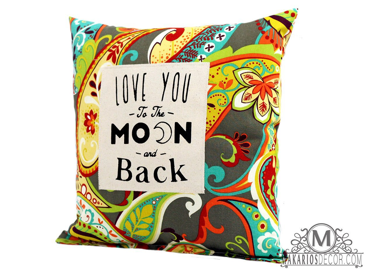 Love you to the Moon and back Pillow