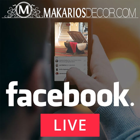 Your Makarios Decor LIVE Purchase