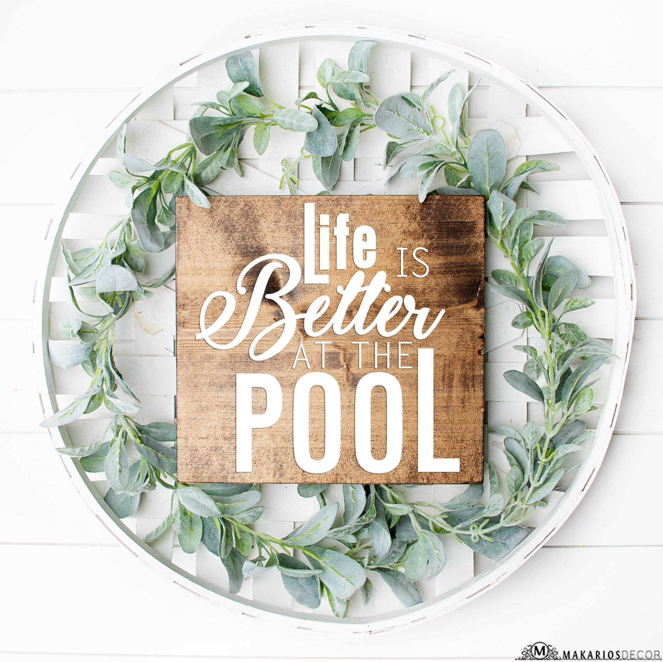 Life Is Better At The Pool