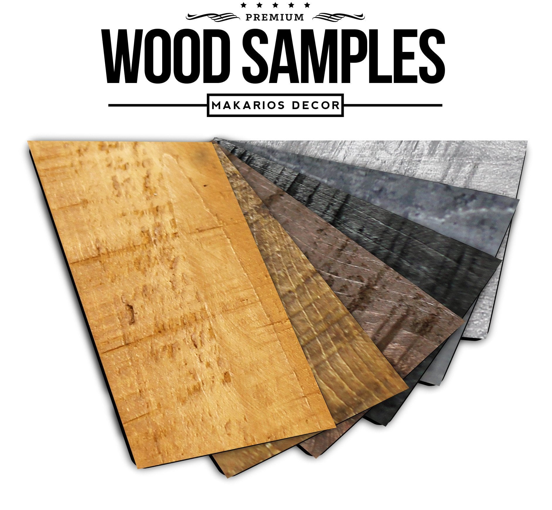 Wood Color Samples
