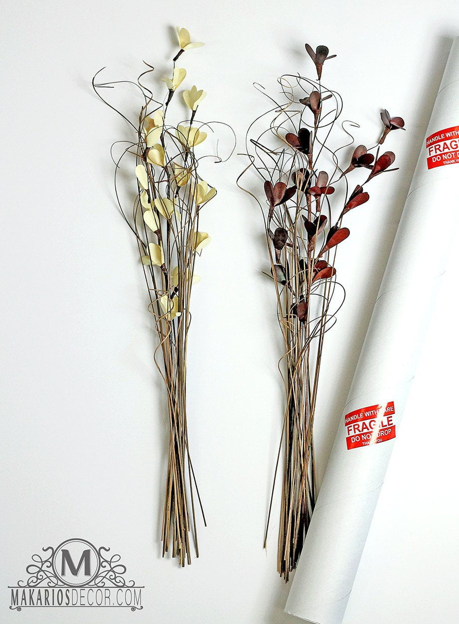 Sconce Stem Flowers