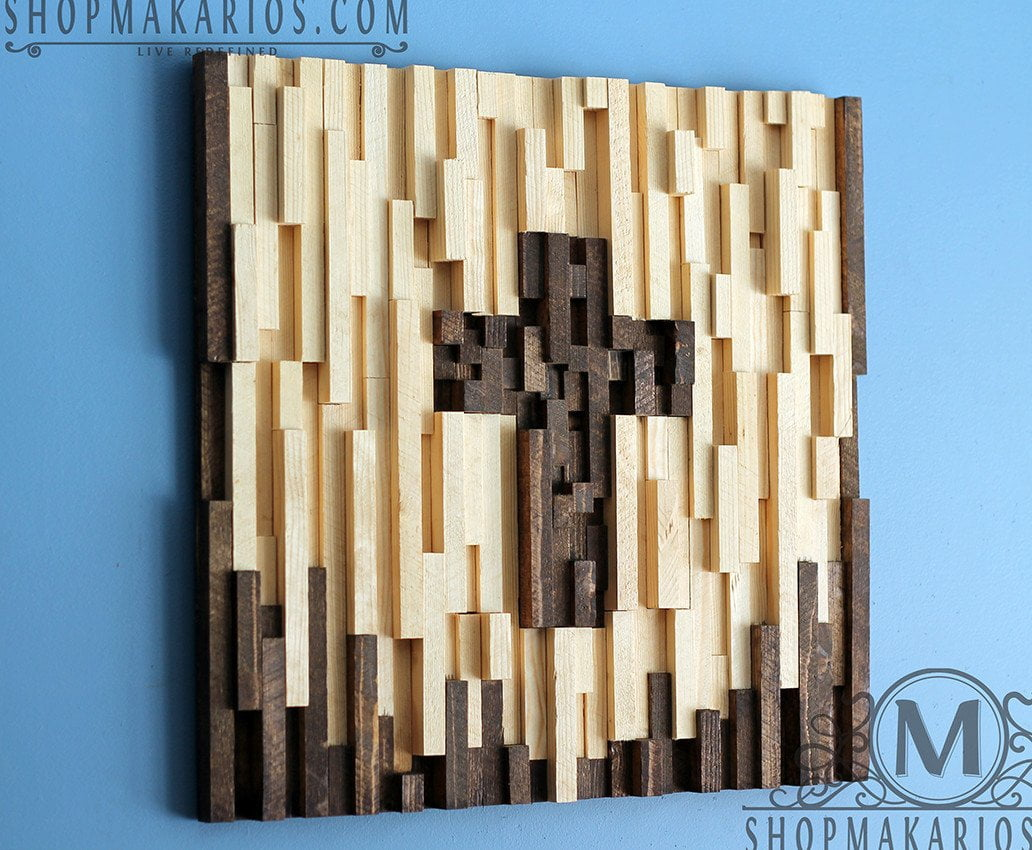 Wood Tile Cross